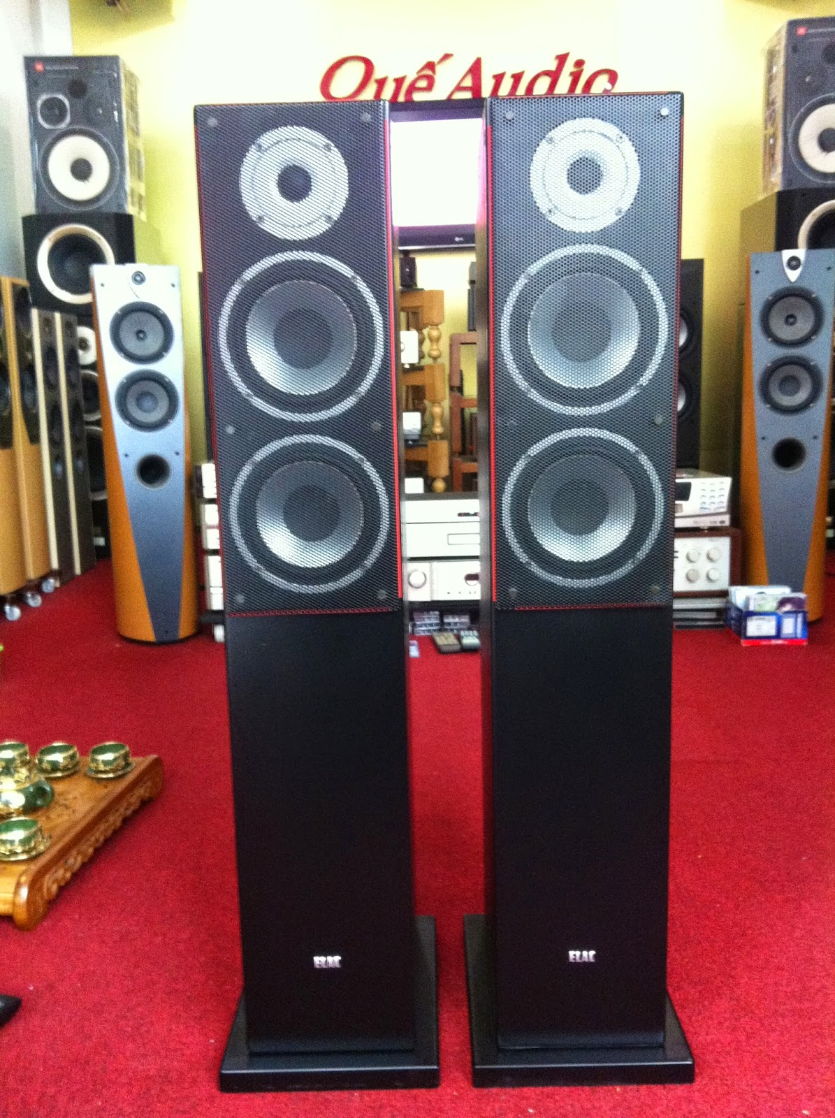 Loa ELAC FS 57.2 - Made in Germany