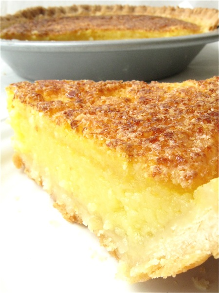 Lemon Chess Pie | Coleens Recipe Blog