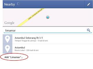 Cara Menambah Tempat Check In Baru di Facebook