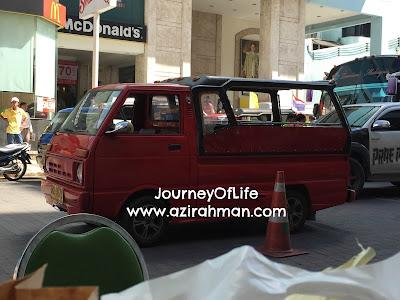 Jalan-jalan ke Hat yai, penginapan dan pengangkutan