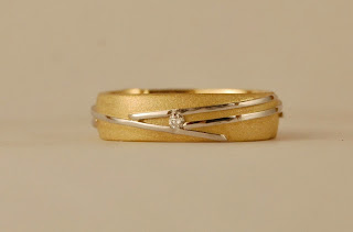 Men's wedding band with diamond boston