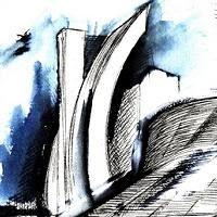 In contemporanea al Salone del Libro di Torino si è aperta la mostra dei disegni di Daniel Libeskin