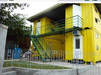 Shipping Container Homes Citihub Mandaluyong Shipping Container Dormitory In The Philippines