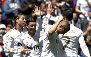 أهداف مباراة ريال مدريد ومايوركا 4-1 في ختام الدوري الاسباني 13-5-2012