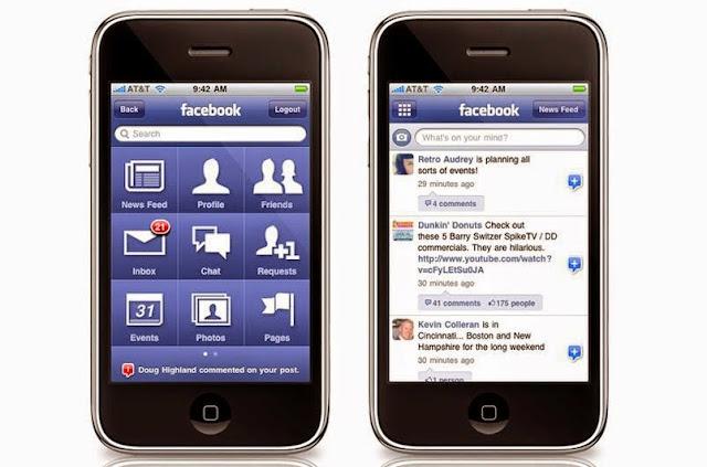 Aplikasi Facebook Seluler Terbaru 2015