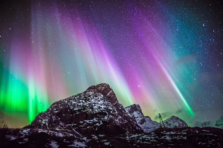 Astrophotographer Nicholas Buer Captures All Kinds of Spectacular Light Shows Exploding Throughout The Sky.