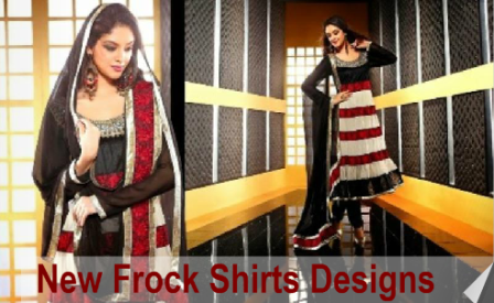 New-Frock-Shirts-Designs