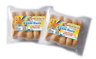Nugget Ayam Susu Keju Cheedar - Anak Sehat Foods