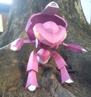 Pokemon Genesect Papercraft