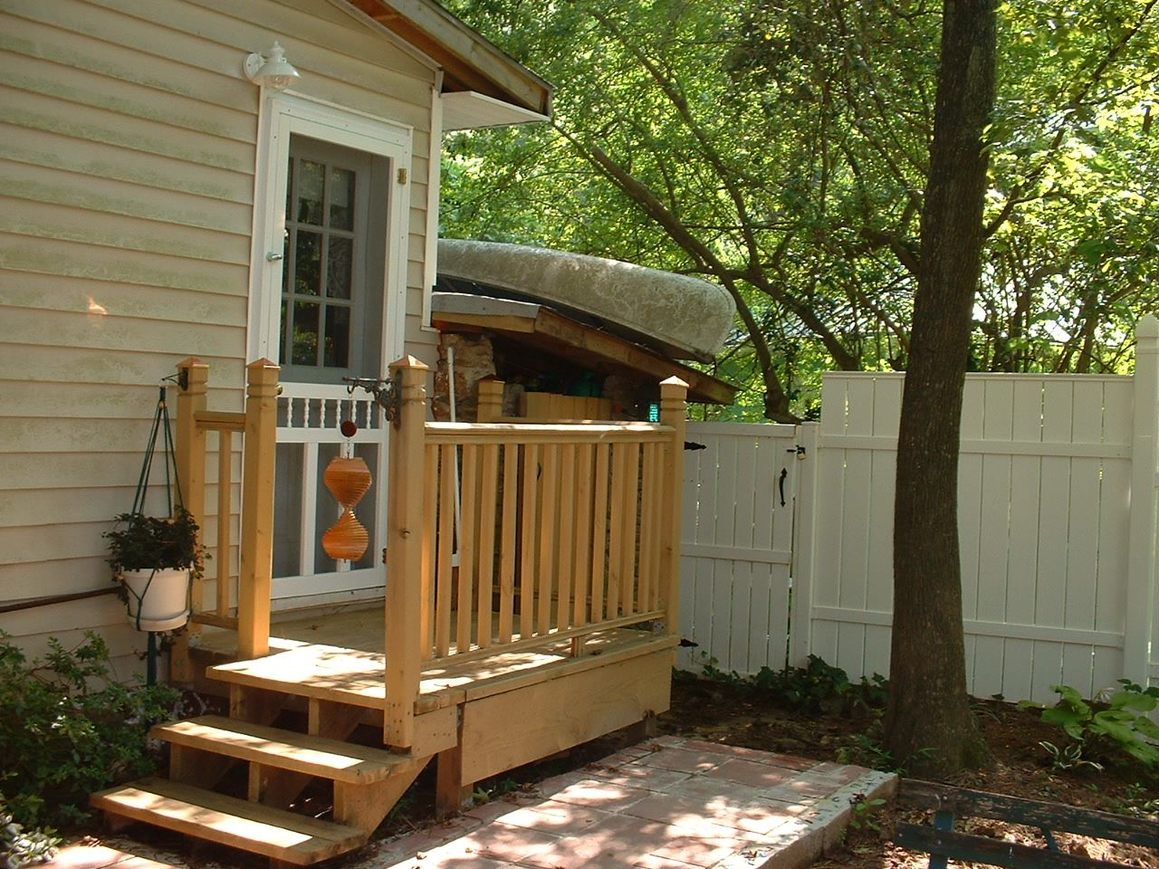 Pine lake the blog my little house in pine lake part 5 for Back entry doors for houses