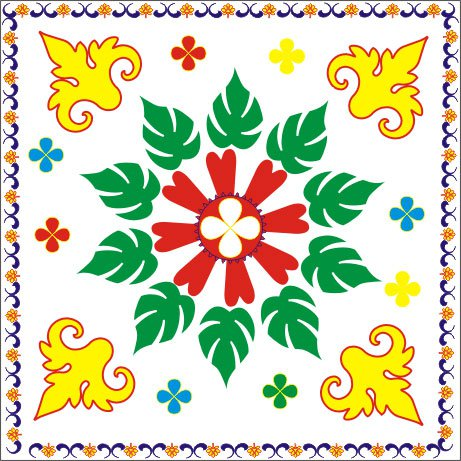 sankranti muggulu without dots.
