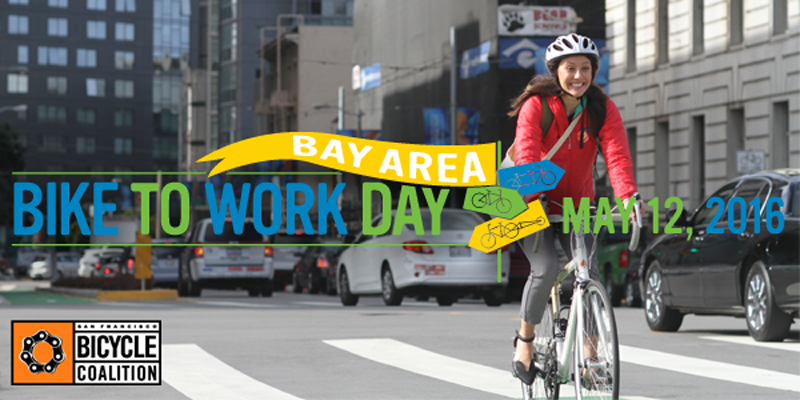 Bike to Work in 2016 - May 12