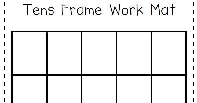 Printables Ten Frame Worksheets 10 frame worksheets photos pigmu number names ten frames free printable