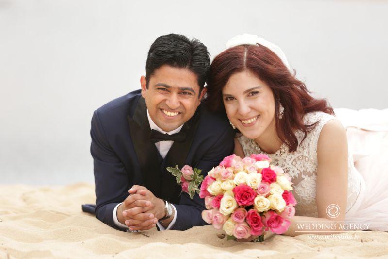 internacionālas kāzas, Kāzu Aģentūra, kāzu organizēšana, indietis prec latvieti