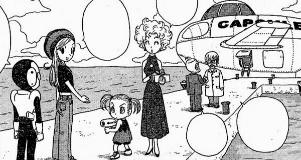 "Viñeta del manga ""Jaco: The Galactic Patrolman"""