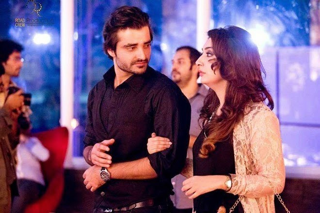 Hamza Ali Abbasi and Ayesha Khan