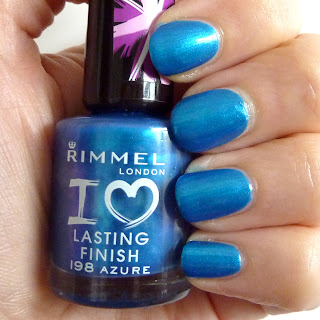 Rimmel Lasting Finish Nail Polish Swath of Azure