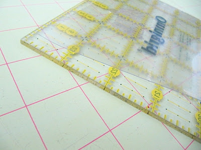 prevent quilt ruler slipping
