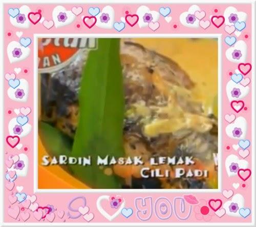 Ketuk-ketuk Ramadhan 2014 bersama Nabila Huda, Tesco Extra Shah Alam, - Milky Butter Prawn, Sardin Masak Lemak Cili Padi