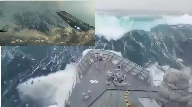 Τα WIKILEAKS Αποκάλυψαν πόλεμο Αμερικής με UFO στην Ανταρκτική!!