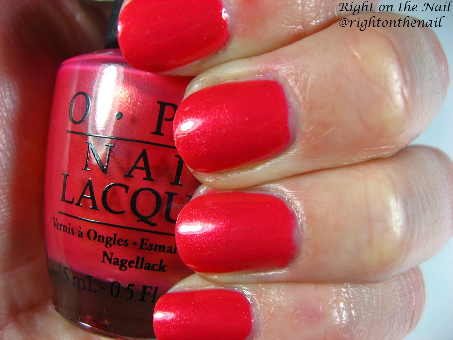 right on the nail right on the nail opi spring 2015 hawaii