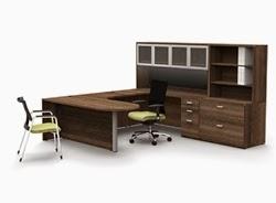 Modern U Desk