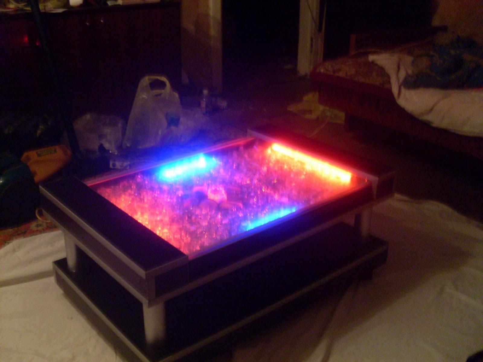 подсветка стола фото