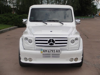 mercedes g limo