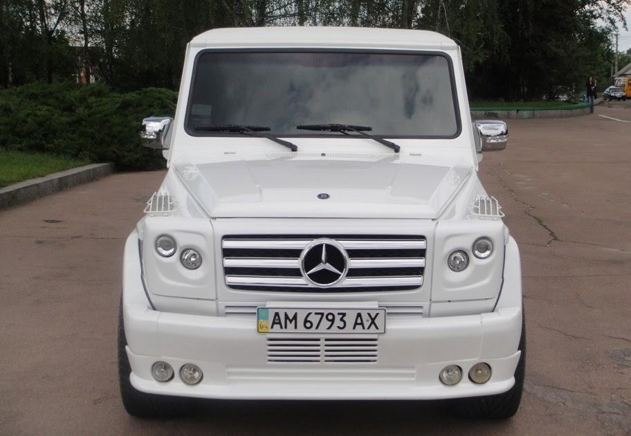 Mercedes benz gelandewagen limousine benztuning for Mercedes benz g600