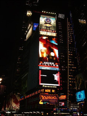Luminoso de Times Square en Nueva York