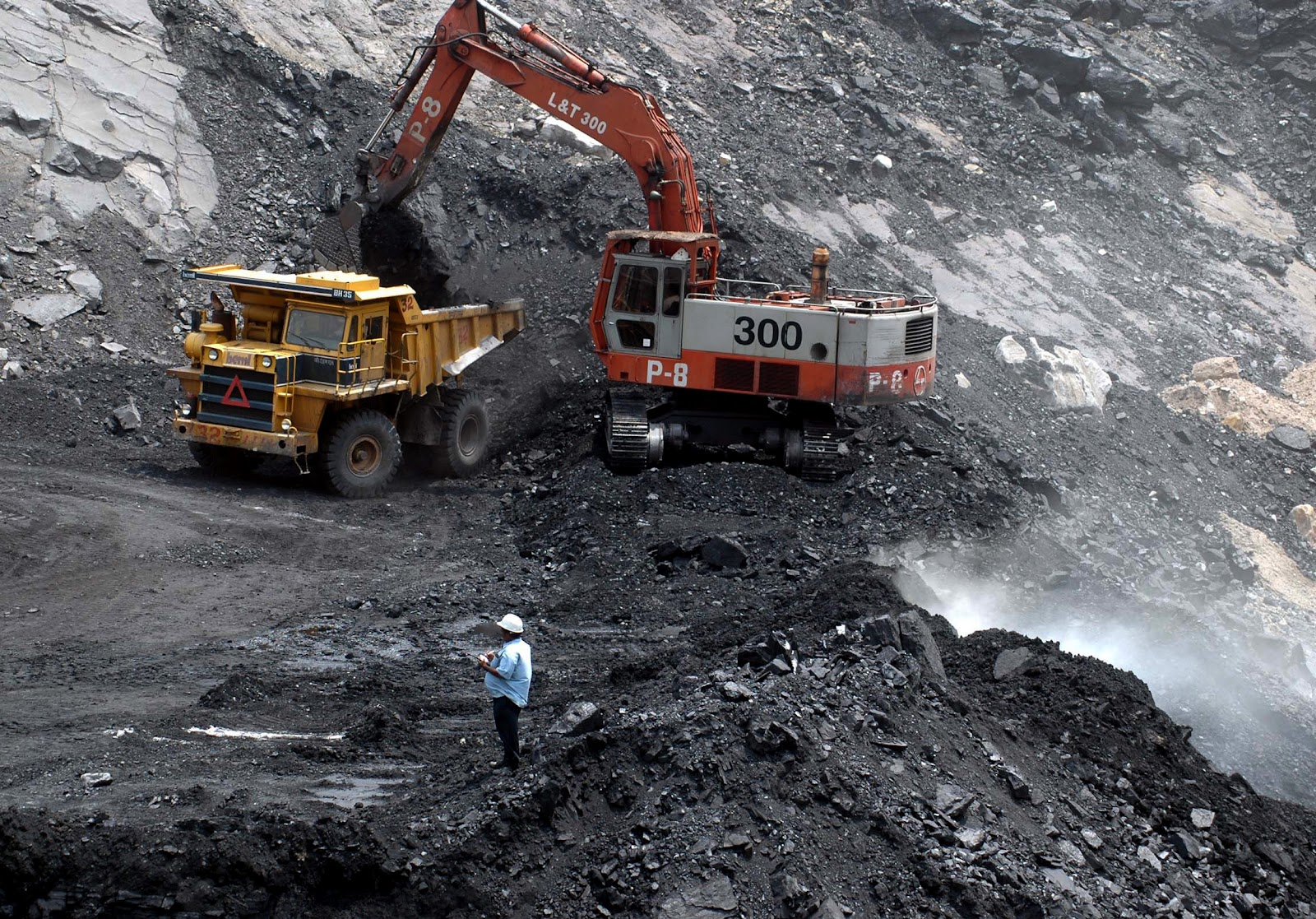 Dhanbad India  City new picture : Indian By Heart : Mining Demon feeding on natural resources