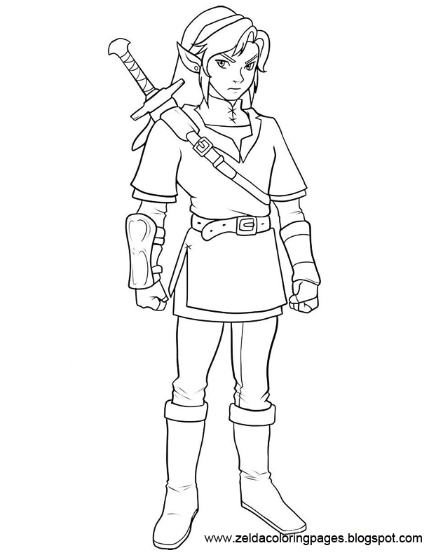 ganondorf coloring pages - photo#38