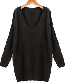 http://www.sheinside.com/Black-V-Neck-Long-Sleeve-Loose-Knit-Sweater-p-181885-cat-1734.html?utm_source=julietsthreads.blogspot.jp&utm_medium=blogger&url_from=julietsthreads.blogspot.jp