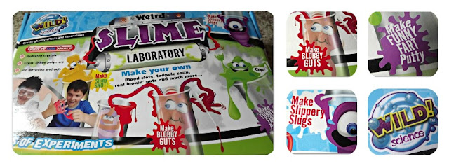 Christmas ideas, Wild Science, Weird Slime Laboratory, fun, science, gift ideas, 10 years plus, slime, ghastly, experiments, review.