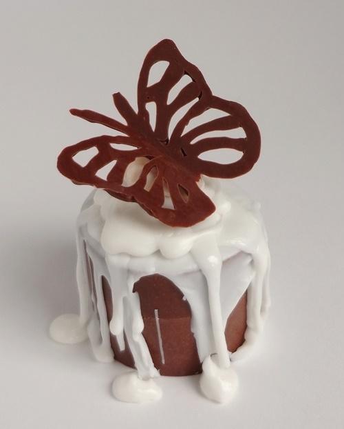Chocolate butterfly - Mini Dessert Soaps