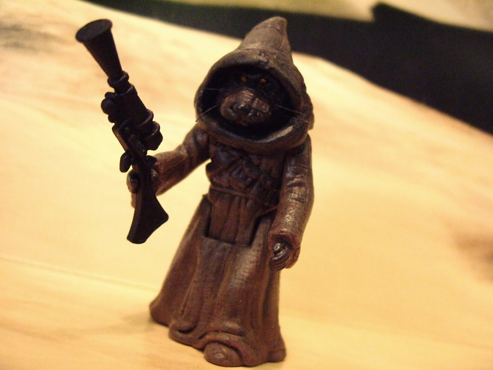 Star Wars: Customs for the Kid: THE UNHOODED JAWA