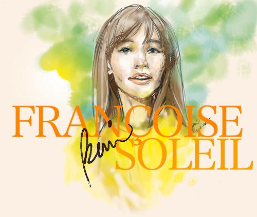 Portraits au crayon de Françoise Hardy FrançoiseHardy_Jaune_CD_RGB