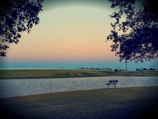 FOTO: Bayangan Bumi di Austin, Texas