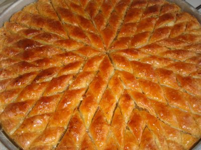 n-fold geometry: Eight-Fold Pistachio Baklava