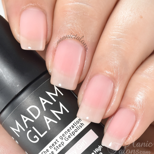 Madam Glam One Step Baby Girl Swatch