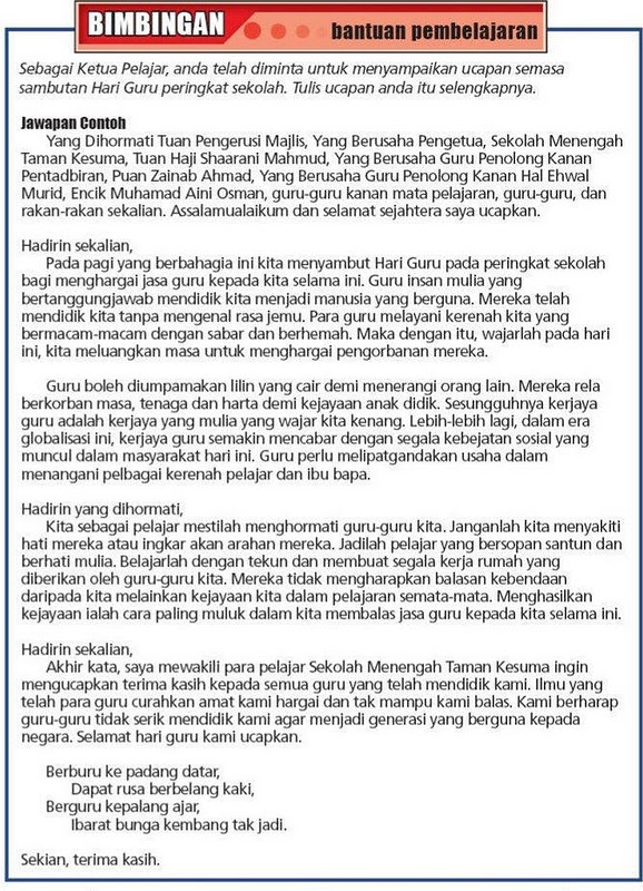 Sumber: Mari Belajar Bahasa Melayu
