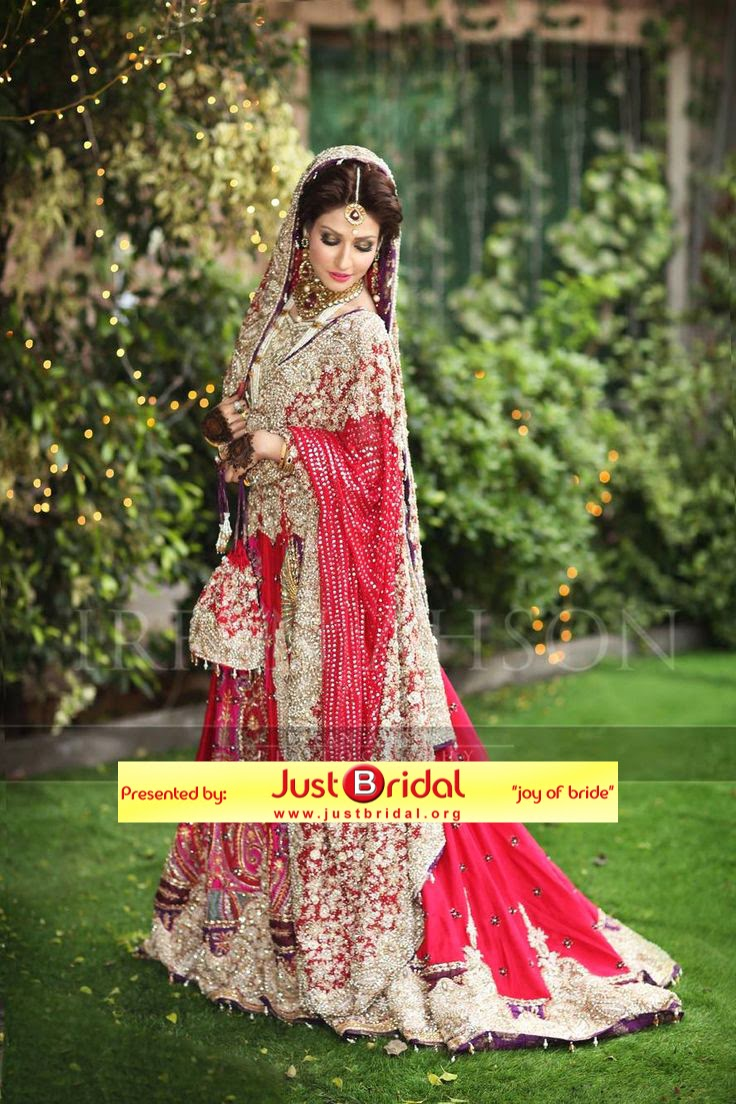 Pakistani dulhan shadi dress