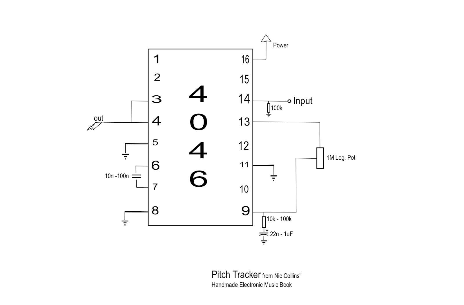 The Lunetta Cmos Love Or I Built A Bit Cusher Out Of Broken Gate Tone Generator By Ic 4011 Electronic Projects Circuits Updated Version For Use