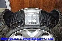 Bagian dalam Run Flat Tires