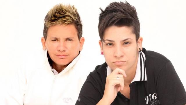 Duda (esquerda) e Aline (direita) formam As Bofinhas (Foto: Divulgação)