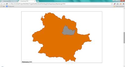 Tampilan data HTML di Web Browser