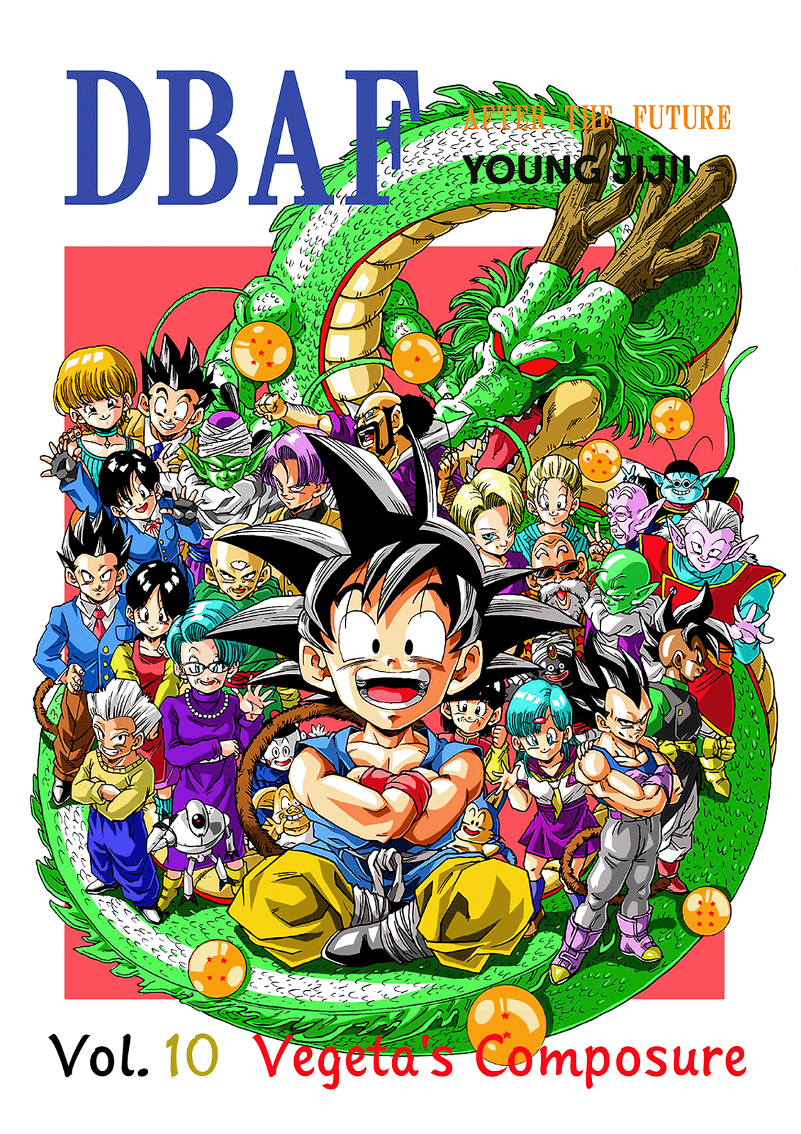 Young Jijii's Dragon Ball AF Vol. 10