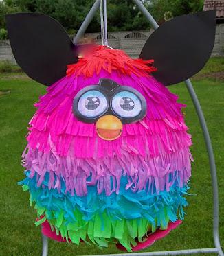 Olbrzymia piniata Furby BOOM - piniata na urodziny, imieniny i inne okazje