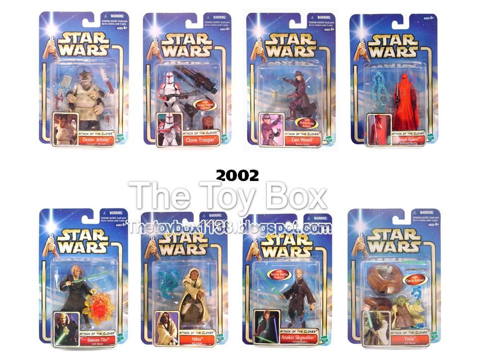 The Toy Box Star Wars Saga Hasbro