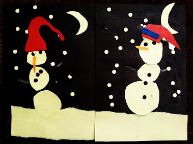 Dancing snowmen.